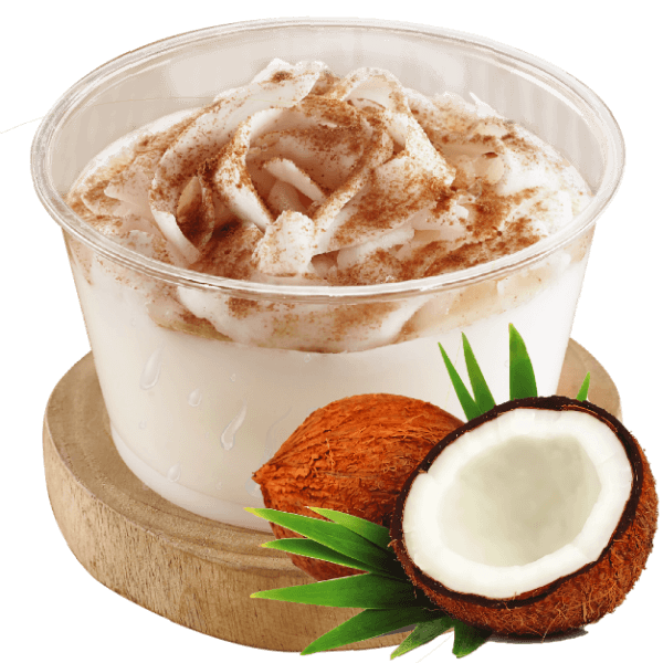 SILKY COCONUT PUDDING